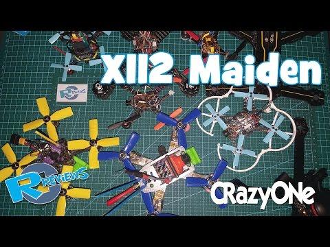 Maiden flight of X112 - CRazyONe - FPV DVR footage - UCv2D074JIyQEXdjK17SmREQ