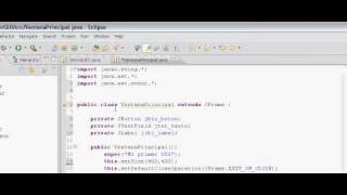 Tutorial Java en Español - Capitulo 18 - Layouts, JButtons, JTexField, JLabel