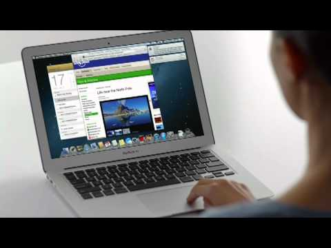 Apple Mac OS X 10.8 Mountain Lion tour