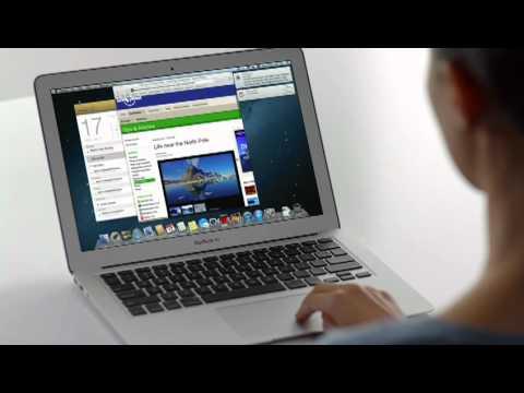 Apple Mac OS X 10.8 Mountain Lion tour