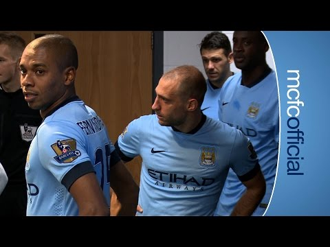 TUNNEL CAM | City 2-1 Swansea