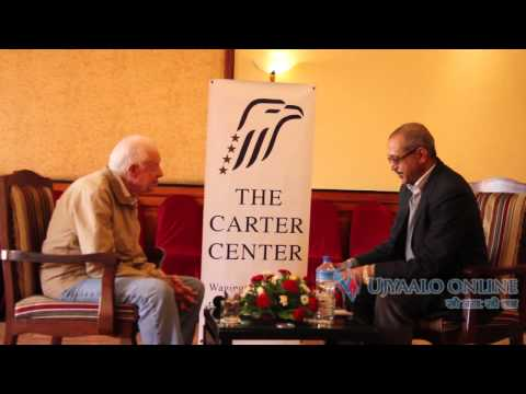 Interview With former US President Jimmy Carter