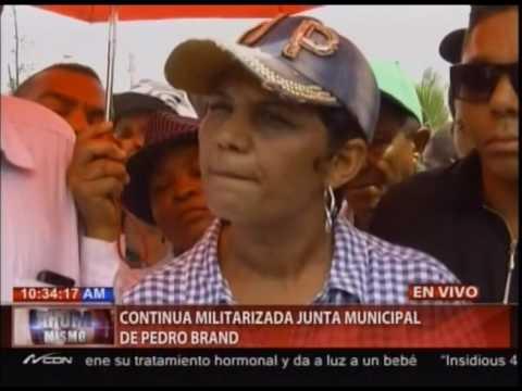 Continúa militarizada Junta Municipal de Pedro Brand