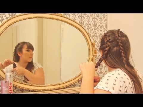 Penteados possíveis - Ju Romano ensina a fazer as tranças do desfile da Cavalera