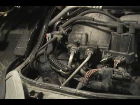 Chevy Astro CPI Fuel Injector Install Part 1