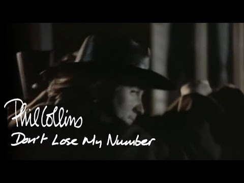 Phil Collins - Don-t Lose My Number (Official Video)