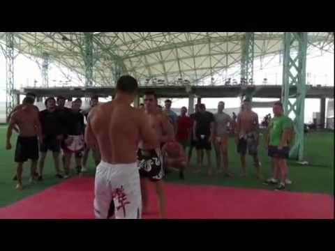 Watch Coach destroys student with 1 punch.This Man is a Crazy MTF.