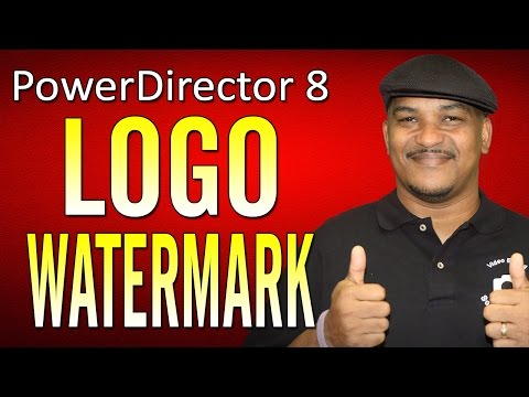 How to make a watermark - CyberLink PowerDirector 8 Ultra