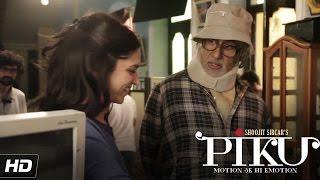 Amitabh Bachchan Teasing Deepika Padukone   Piku