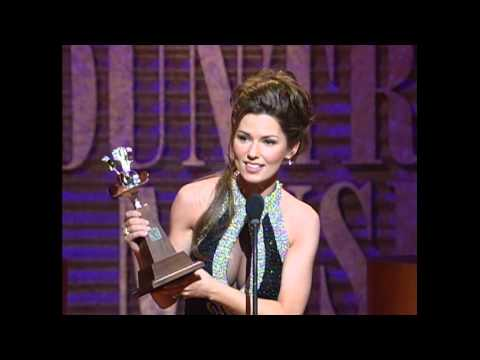 "Shania Twain Wins Album of the Year For ""The Woman in Me"" - ACM Awards 1996"