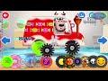 Фрагмент с средины видео - Мультики про машинки для малышей. Строим машинки. Мультфильм Автомастерская чиним машины  детям.
