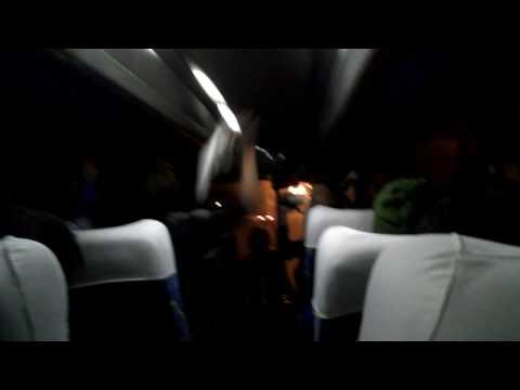 南アW杯:試合後のサポーターバス車内より!