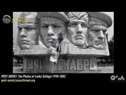POST-SOVIET – The Photos of Lenke Szilágyi 1990–2002. Virtual exhibition opening [in Hungarian]