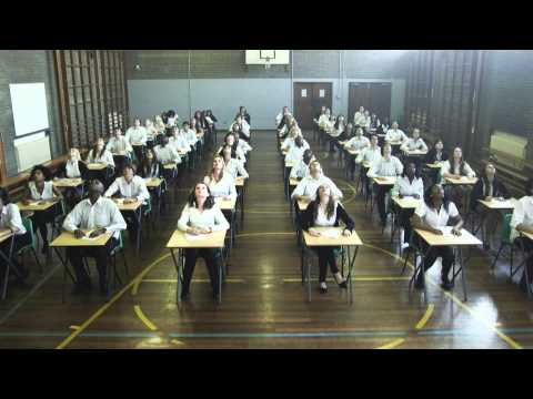 Mexican Wave in Exam Hall: How to Beat Exam Stress!