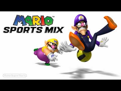Mario Sports Mix Music - Waluigi Pinball