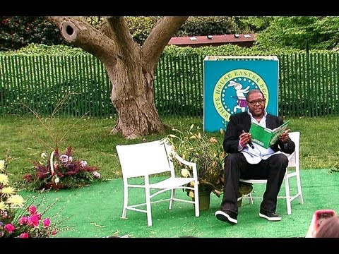 "2012 White House Easter Egg Roll: Forest Whitaker Reads ""Horton Hatches the Egg"""