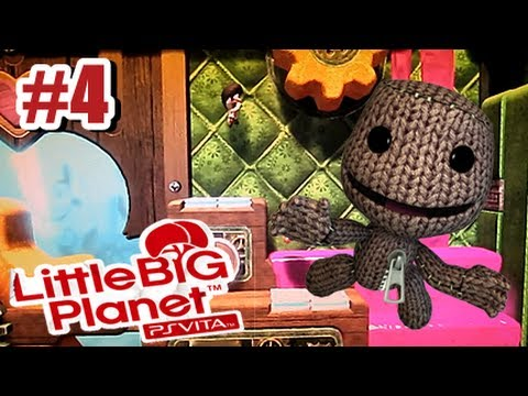 Little Big Planet PS Vita - Story Mode Part 4 Co-op w/Vash12349