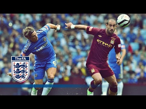 Man City 3-2 Chelsea Official Goals & Highlights, Nasri, Torres - The FA Community Shield 2012