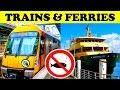 Sydney Trains & Ferries Trainspotting Ferry Spotting Foamers Tour