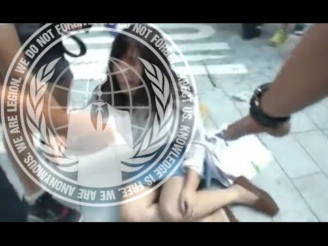 Anonymous Declares War Against Hong Kong Police