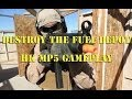 Destroy The Fuel Depot Bomb Game. HK MP5 (Airsoft Gameplay And Commentary)