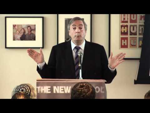 Nestor Kirchner at The New School: Latin America Rising (English Translated Version)