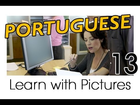 Learn Portuguese with Pictures -- Brazilian Portuguese for the Workplace