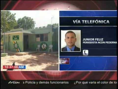 Haitianos se roban dos fusiles en el Dique de Pedernales