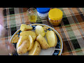Фрагмент с середины видео Картошка по-деревенски. Пальчики оближешь:)))))