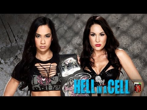 AJ Lee vs. Brie Bella - Hell in a Cell - WWE '13 Simulation