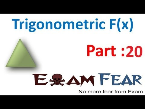 Maths Trigonometry part 20 ( Problems ) CBSE class 11 Mathematics XI