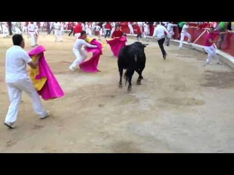Encierro 14-7-12 (Plaza)