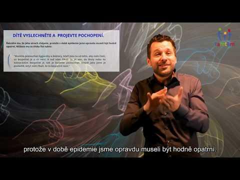 COVID-19 Jak pomoct dítěti překonat strach z koronaviru a vracet se do normálu? (ČZJ/Titulky)