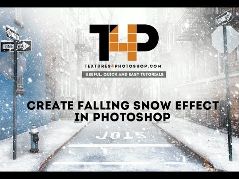 Snowing and Snow Overlay Texture video tutorial