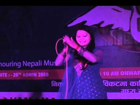 MILAN AMATYA ON KAlika fm music awaRd 2069