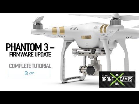 DJI Phantom 3 Firmware Update, Complete Tutorial