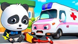 Ambulance Rescue Team  Doctor Cartoon, Fire Truck  Nursery Rhymes  Kids Songs  BabyBus