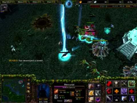 DotA 6.76c Spectre Gameplay, Commentary&amp;Tips December 2012