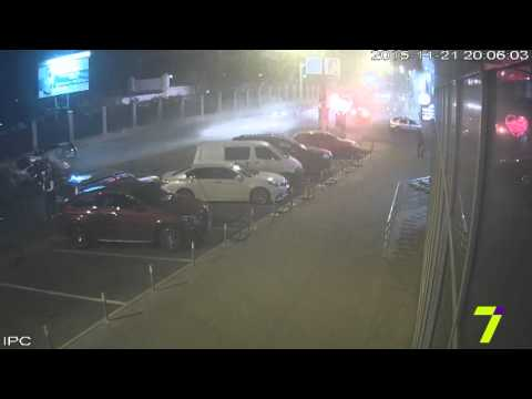 Смертельное ДТП в Одессе (видео с камер наблюдения)