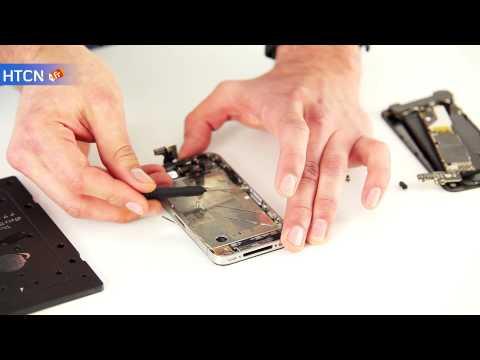 Changement nappe bouton power iPhone 4. Remplacement nappe de proximité