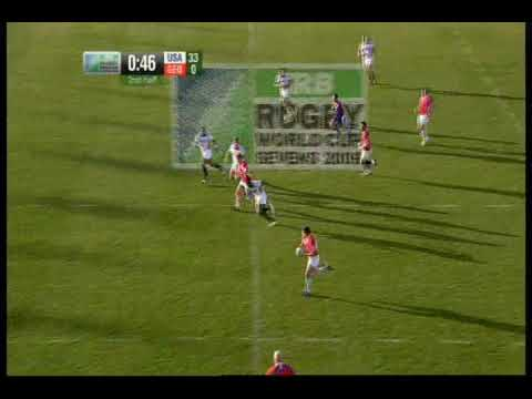 Georgian Rugby Player Giorgi Shkinin Highlights