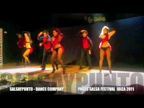 SALSA Y PUNTO  DANCE COMPANY ON2  - IBIZA 2011