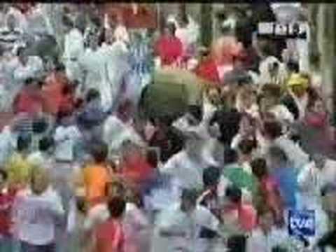 Encierro San Fermín - 14 de Julio de 2004
