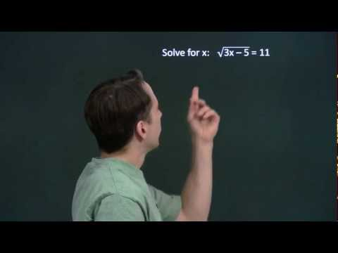 Art of Problem Solving: Square Root Introduction Part 2