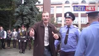 Юрий Градовский пытался сорвать митинг в честь партизан-подпольщиков