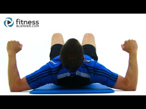 Brutal 35 Minute Bodyweight Workout
