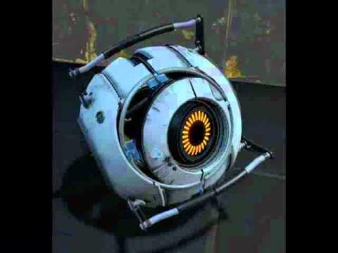 "All quotes from Portal 2's ""Space"" sphere"