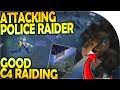 ATTACKING the RAIDER AT POLICE STATION (GOOD C4 RAID!) - Last Day On Earth Survival Update 1.9.6