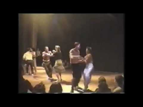 Jeremy Otth and Debbie Smith -LA Swing Dance Contest 1999
