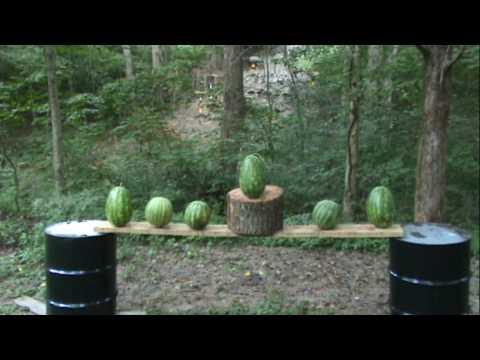 Desert Eagle vs Watermelons